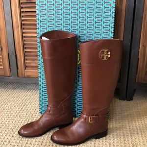 NWT - Torrey Burch Adeline Riding Boots